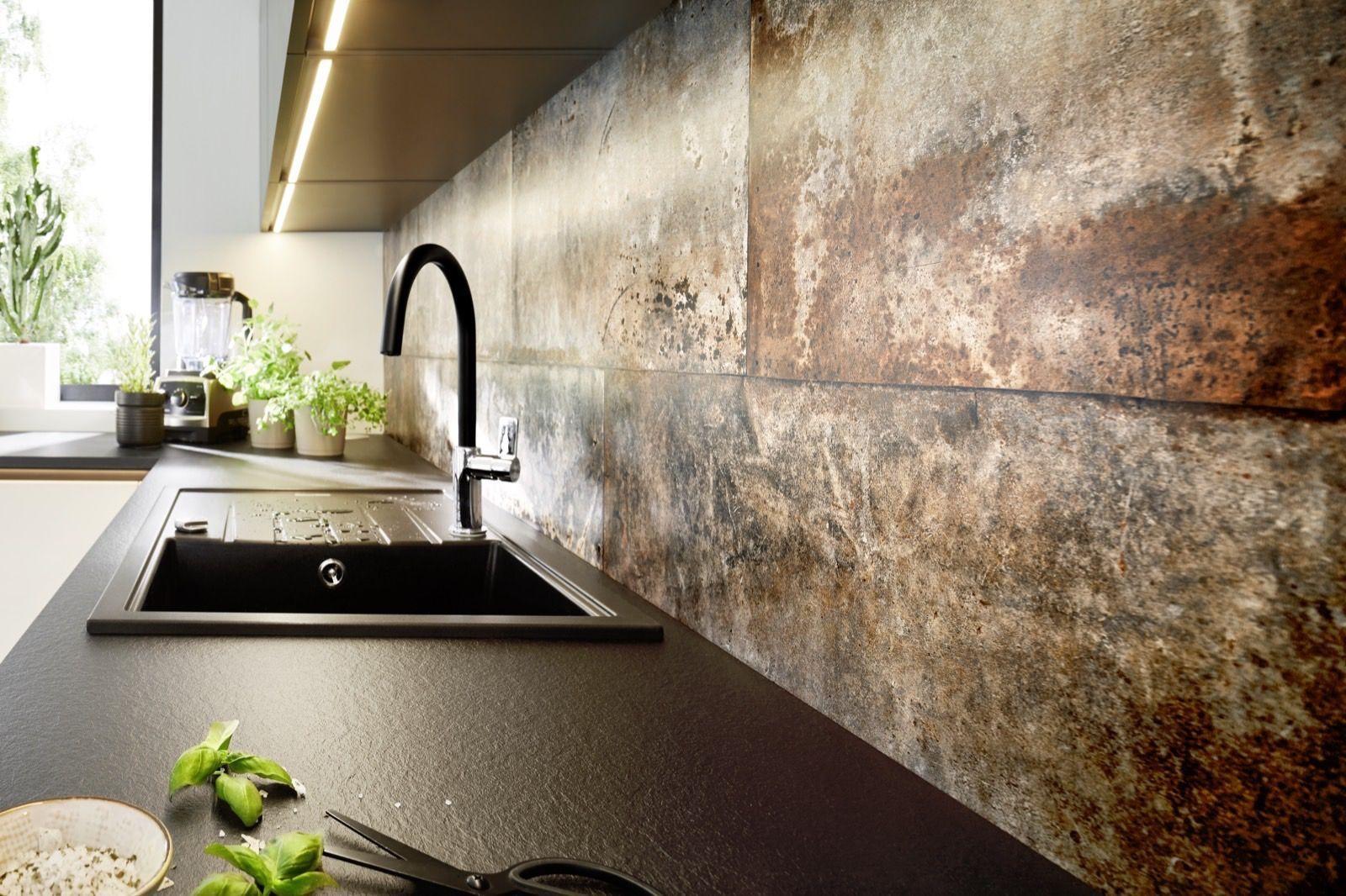 Staal & brons keukens