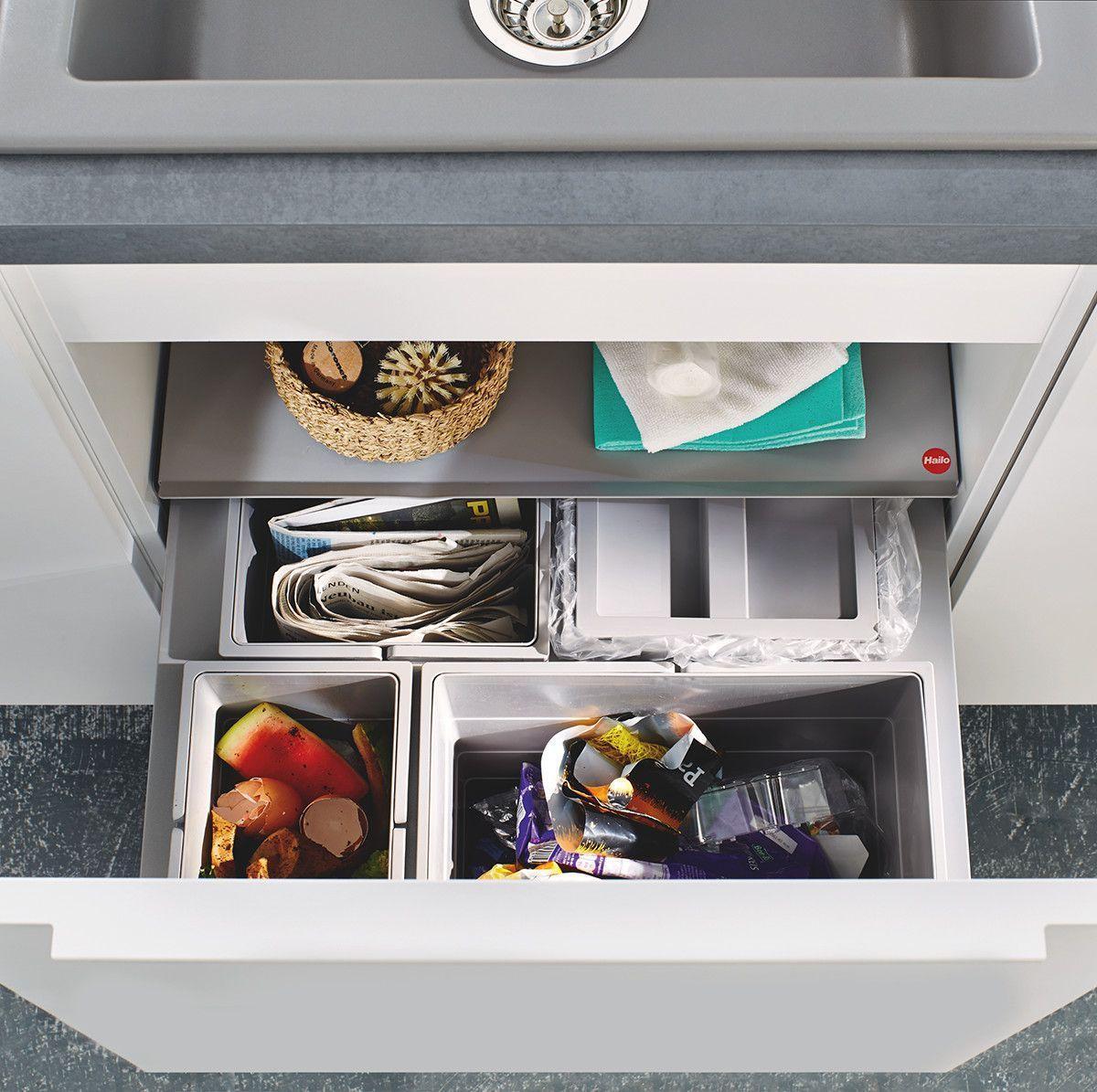 Efficiënt afval scheiden in de keuken